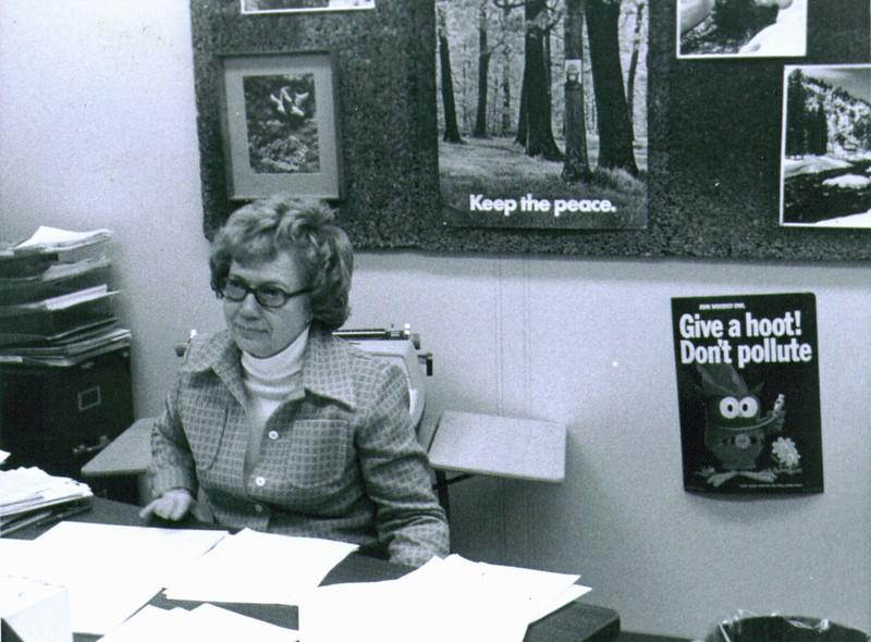 Bonnie at work