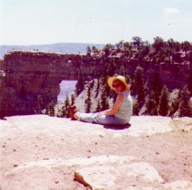 Bonnie at Grand Canyon,  03-1