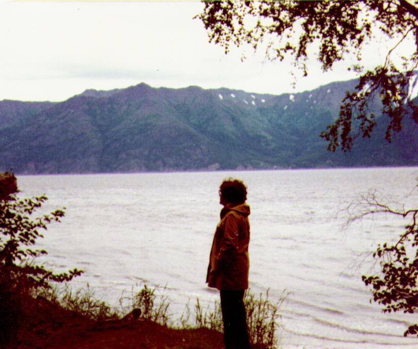 Bonnie,Turnagain Arm nr Hope, AK, July1980