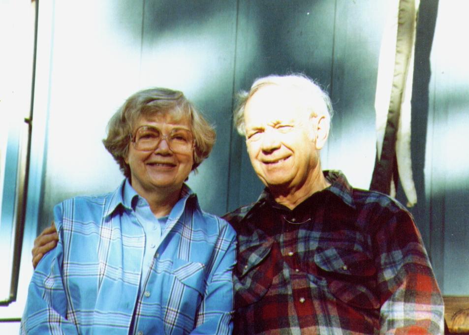 Bonnie & Wayne on Dave's front Porch