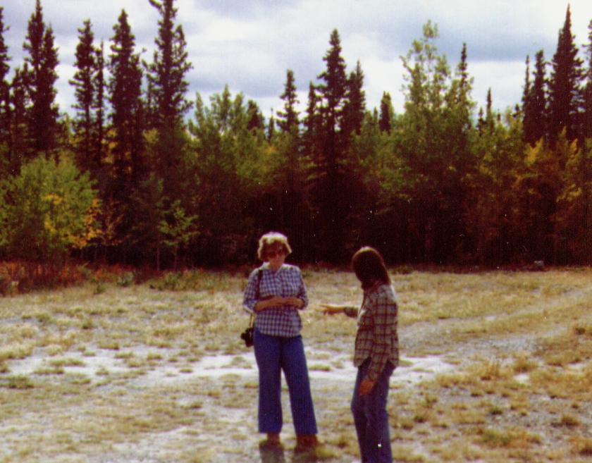 Bonnie & Connie, Yukon Territory, 8-81