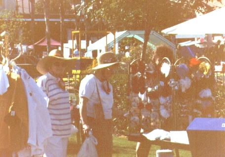 Bonnie Eldredge, Darlene Thompson,Ostrich Festival, Chandler, AZ,1992,  456x318 456x318