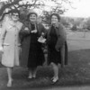 Bonnie's Scottish stepmom's sister, Aunt Jessie Fulton, with two fellow Labor supporters