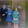 Joyce and Margaret, the nieces of Bonnie's Scottish stepmom, on Joyce's wedding day to Brian