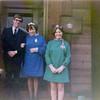 Joyce and Margaret, the nieces of Bonnie's Scottish stepmom, on Joyce's wedding day to Brian