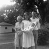 Greatgrandma Laurie, Bonnie holding Christine, Christine's father Jim<br /> 1965