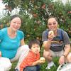 Gavin with mommy & baby & Grandpa