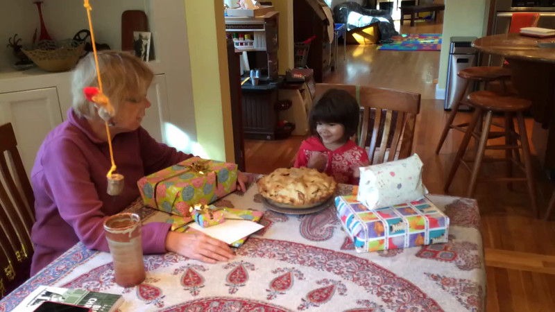 Birthday party on Friday afternoon to make up for the fact we wont actually be here for the real birthday date (Oct 18)