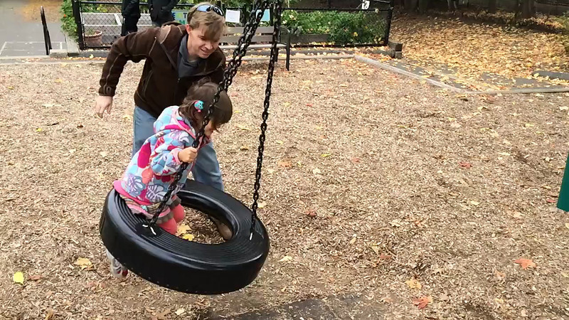 Slow-motion on the Tire Swing at Zaftigs