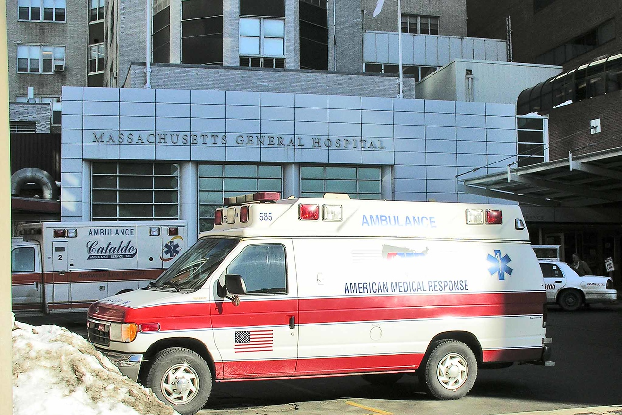 Mass General Hospital - one of the most renowned med facilities in U.S.