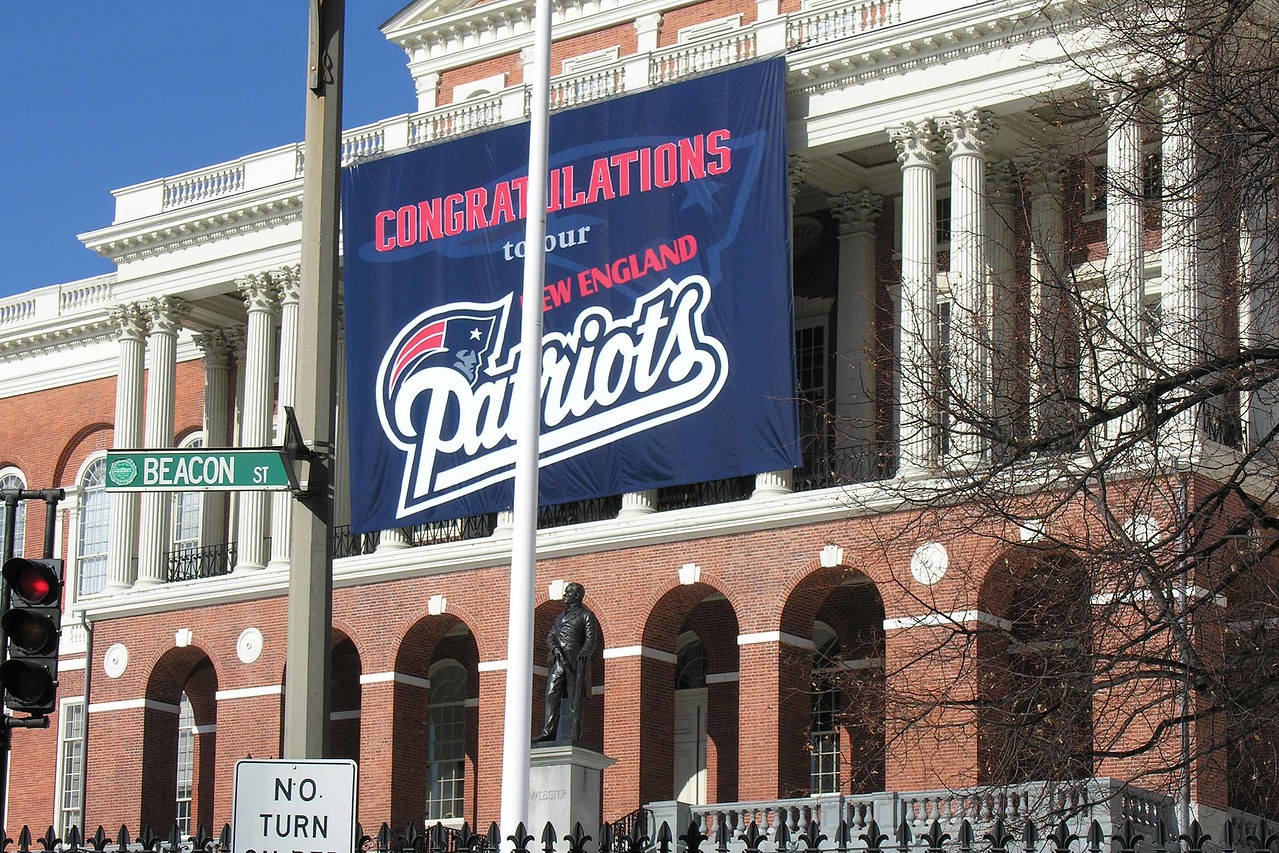 They love their Patriots - especially when they win 3 out of 4 Super Bowls