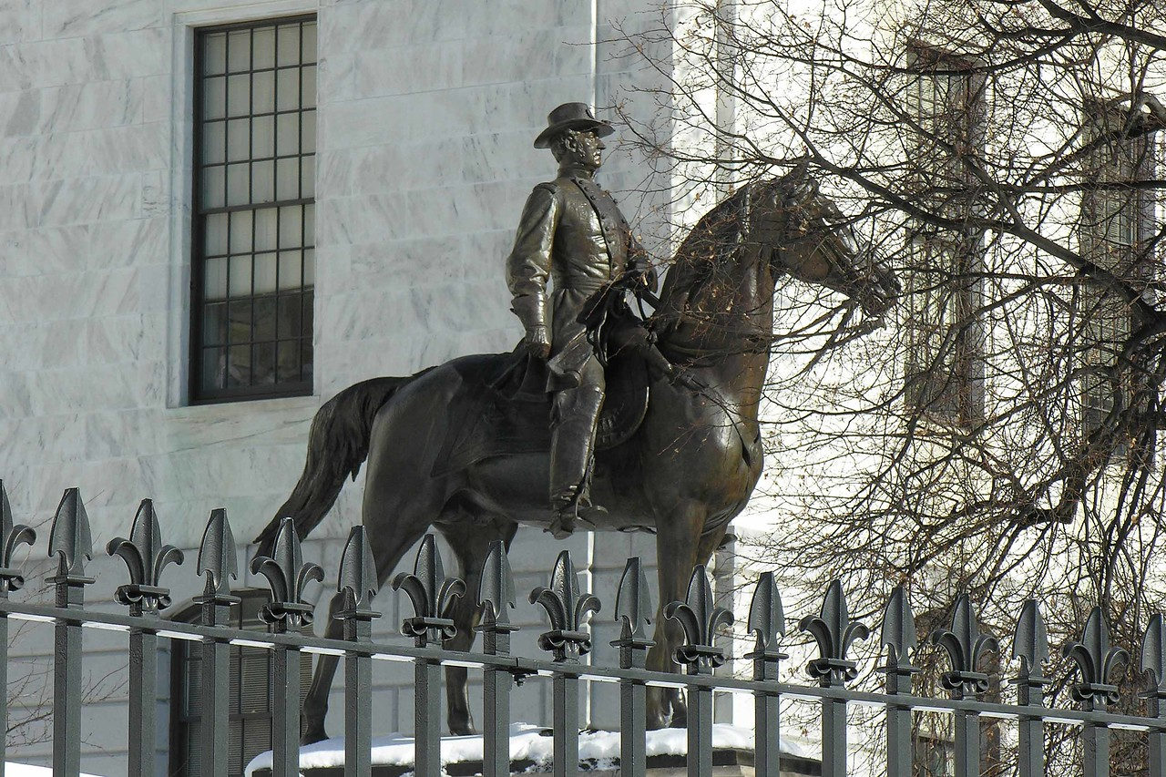 Not Paul Revere - at Mass State House