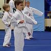 Calvin at Taekwondo class