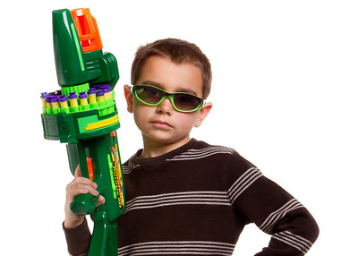Don't mess with me. I'll Nerf you.