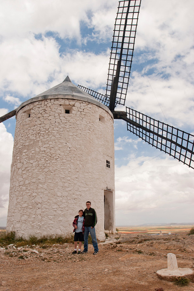 Windmill in La Mancha, Spain