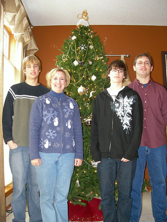 2007 - Christmas - family photo