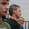 John, Brad and Tracey waiting for awarding the diplomas