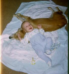 Brad & Dog