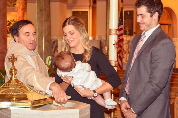 Bradley Baptism - 5 months old