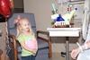 Hallie singing Happy Birthday