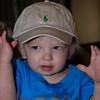 Brady's first hat!