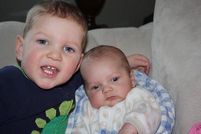 Brandon and Christian 2009