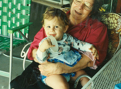 Brandon and Grandma Dietrich