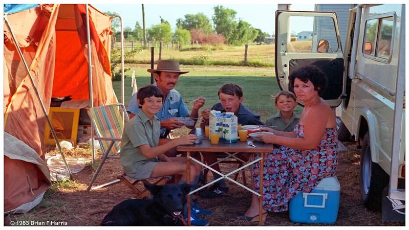 School day in Emerald Jan 1983