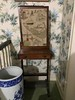 needlepoint fire screen