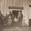 Union Fish Market - Gerolamo holding son James's hand in 1910.