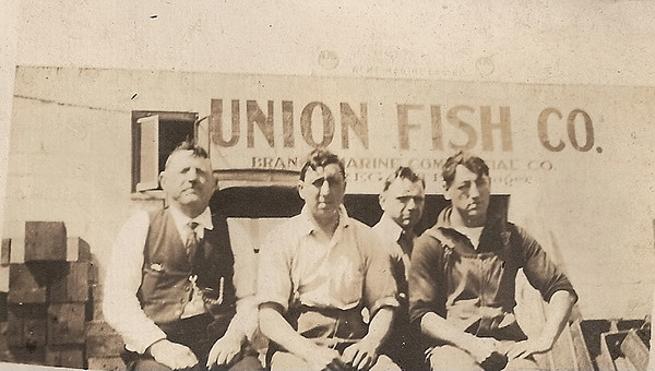 Union Fish Market circa 1920.