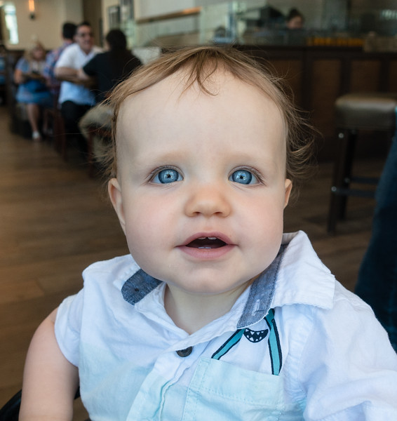 The big boy with the baby blues!!