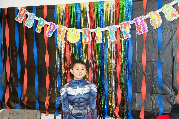 Brendon turns 8
