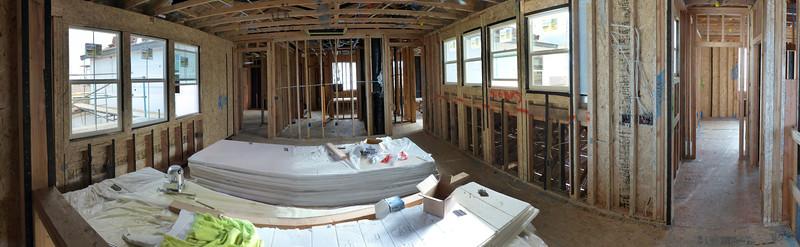 Mar 19 - 2nd floor Bonus room panorama