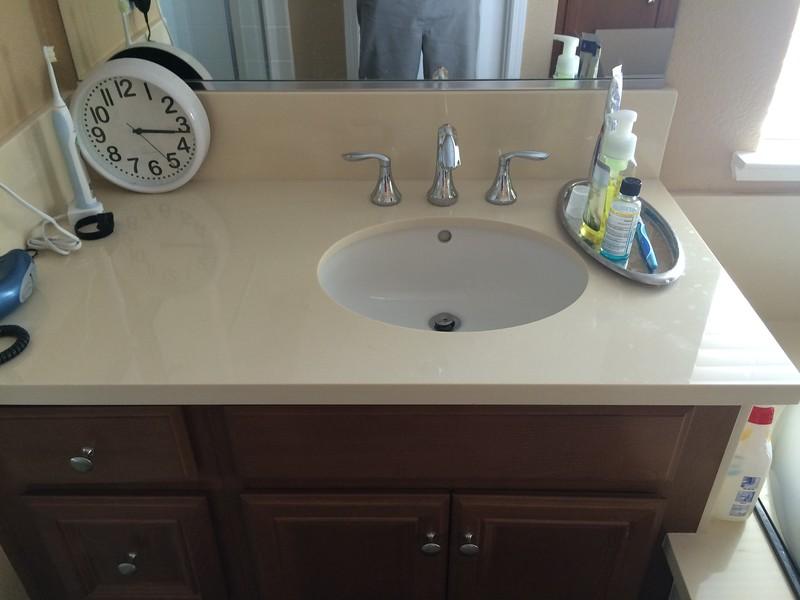 Master Bathroom Sink1