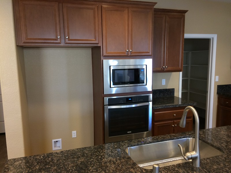 May 31 - Spot for fridge, stainless appliances.