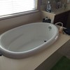 Master Bathroom Tub (E-stone top), Sink2