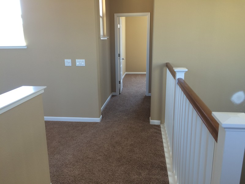 June 9 - Hallway to Myriam's room
