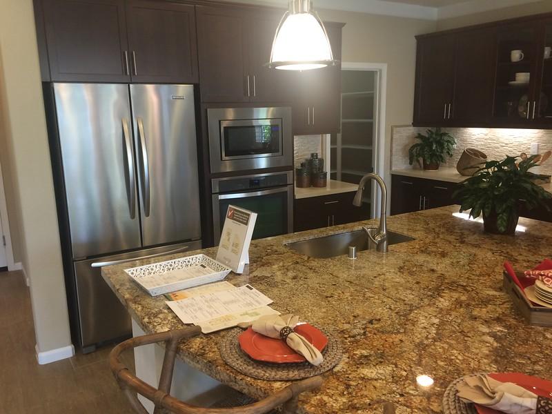 Kitchen, Center Island & Pantry