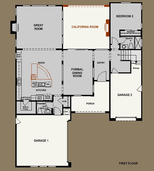 Plan 2 - First Floor