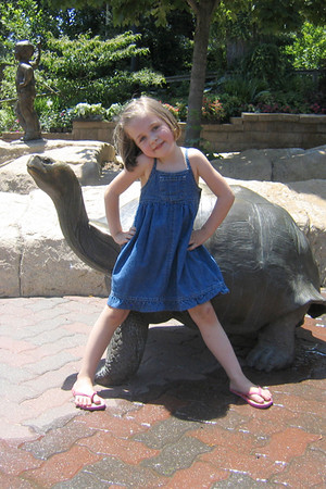 Brett Hannah 6-7-2004 Brett and I (Aunt Andi) went to the Zoo ~ she hammed it up for the camera :)