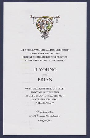 Brian and Ji Young Chen Wedding Aug 3 2013