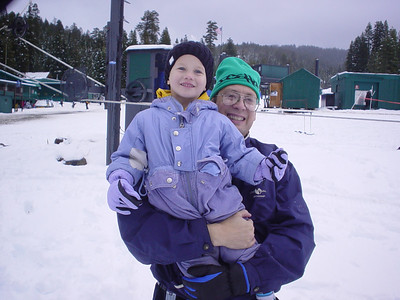 Brian at the snow 2005