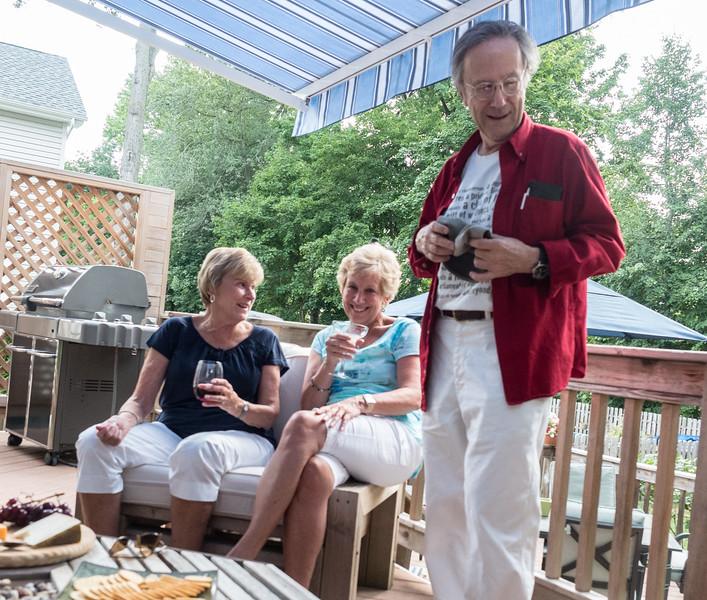 Karen, Carole and Vinny