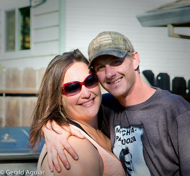Trish and her boyfriend Mitch.