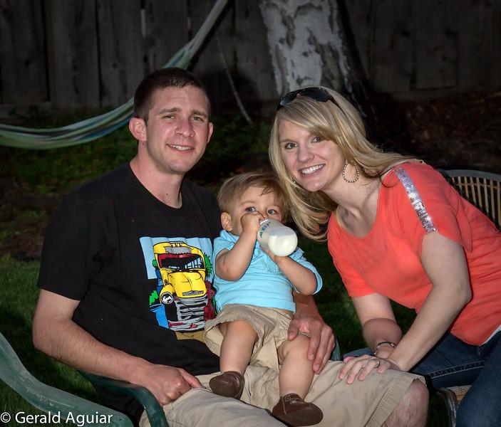 Brian, Zane, and Kristin