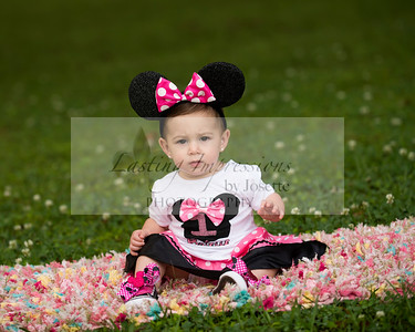 Brielle Domingue one year old