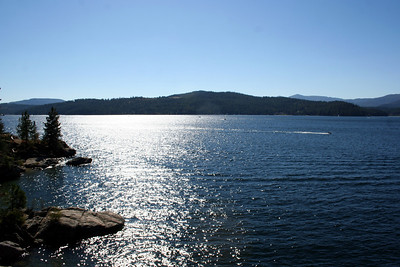 It was a very beautiul Sept day on Lake Coeur d' Alene.