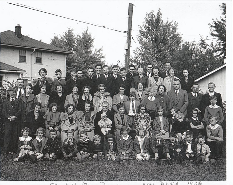 Brinkman family, 1938