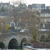 The Bridge over the river Avon at Bradford - frosty!
